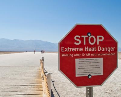 Death Valley Stop Sign 0618