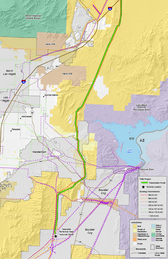 TransWest Map