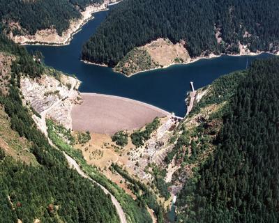 Blue River Dam and Reservoir