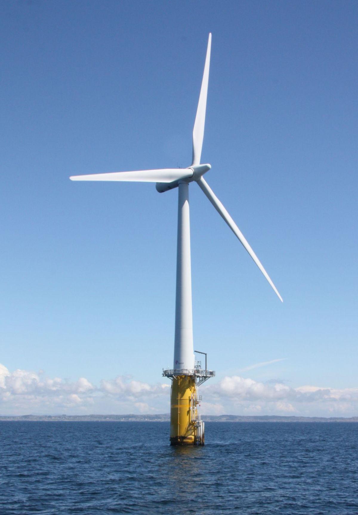 Norway Wind Turbine Pot1213
