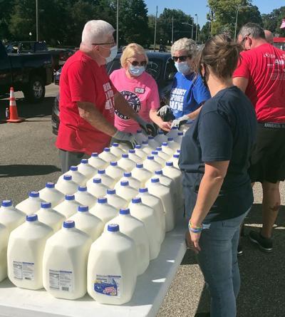 Milk distribution