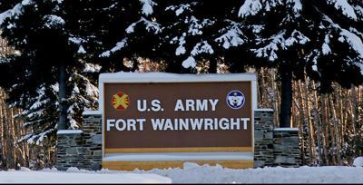 Fort Wainwright Gate