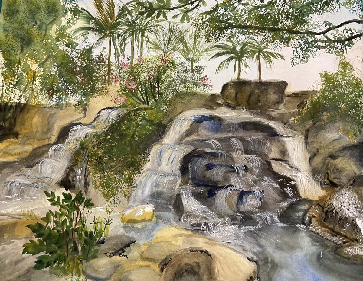 Waikiki Waterfall