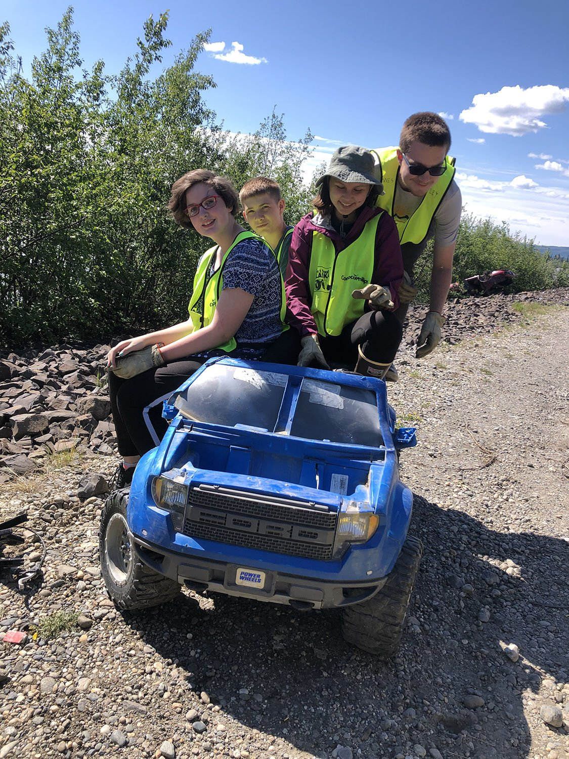 Youth Litter Patrol