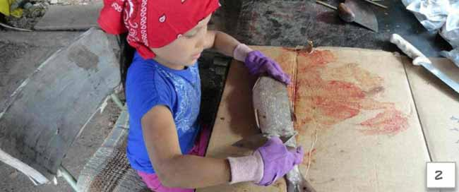 Athabascan Word of the Week: Cutting fish