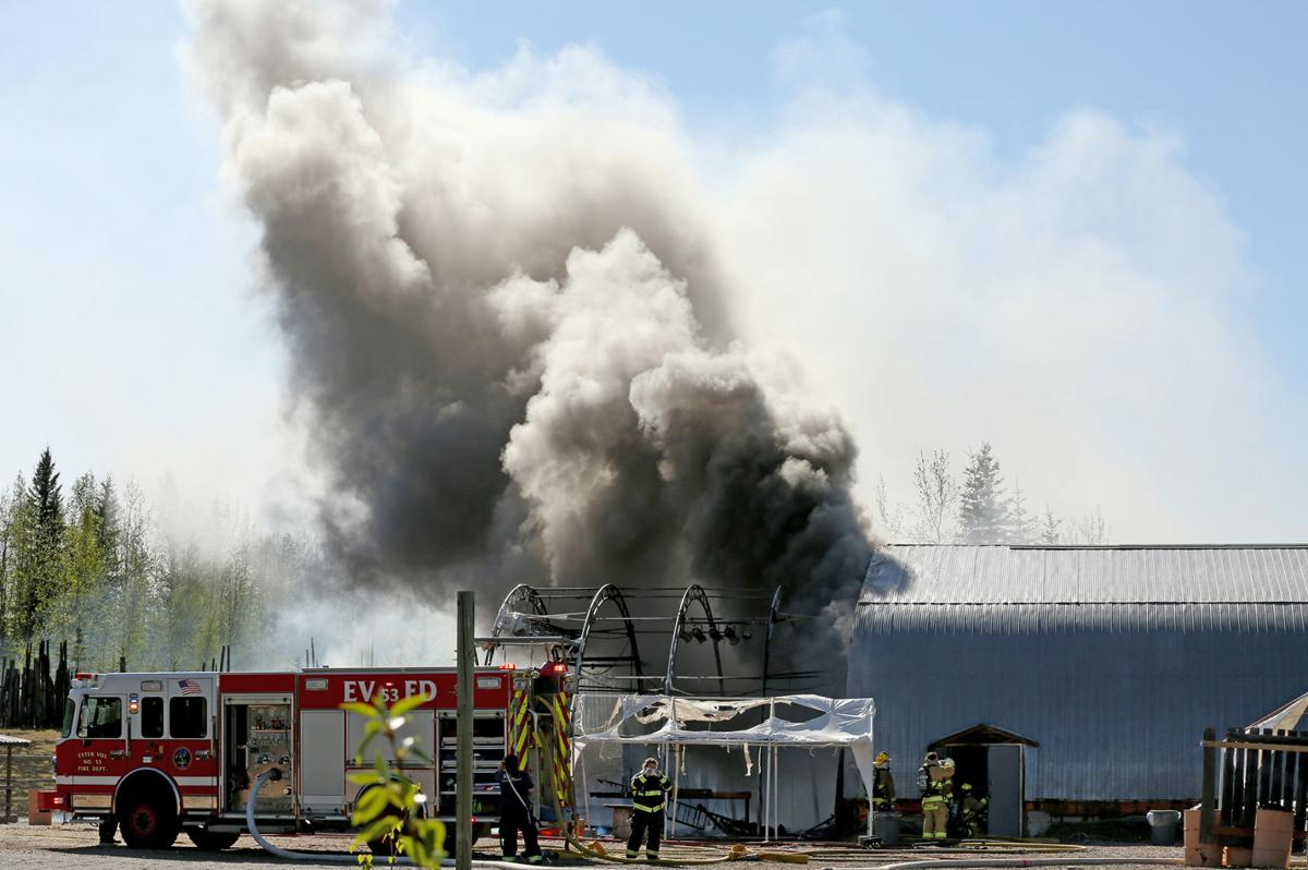 The Blue Loon Fire
