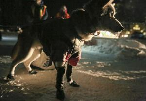 Moore holds Yukon Quest lead as teams approach home stretch