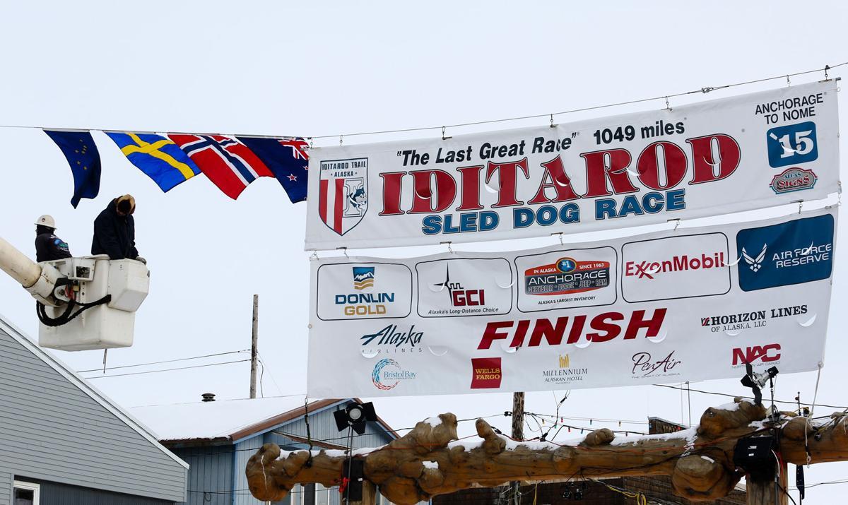 Nome Prepares for the Iditarod