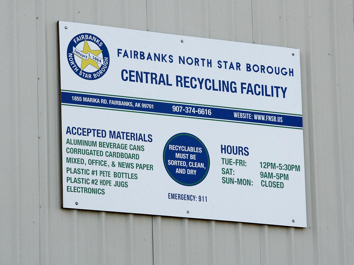 Anchorage Recycling Center >> New Recycling Center Opens Friday In Fairbanks Local News