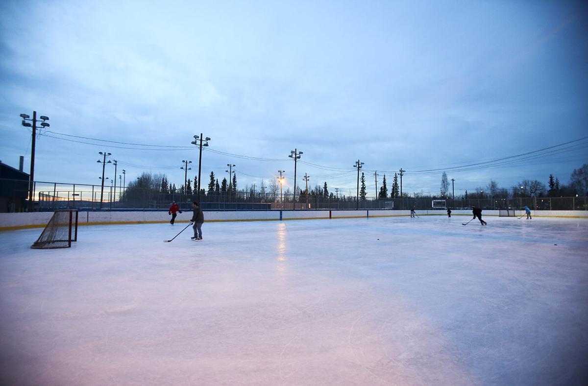 skate season dry freeze up makes fairbanks ice lovers happy