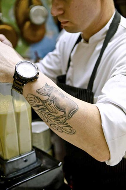 A Kitchen Culture Change Toques To Tattoos Newsminer Com