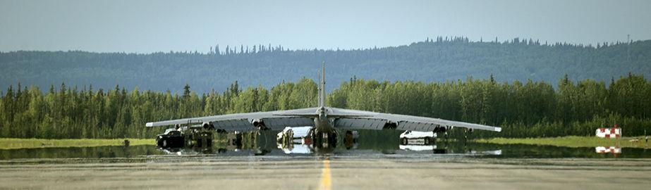 B-52 at Eielson Air Force Base