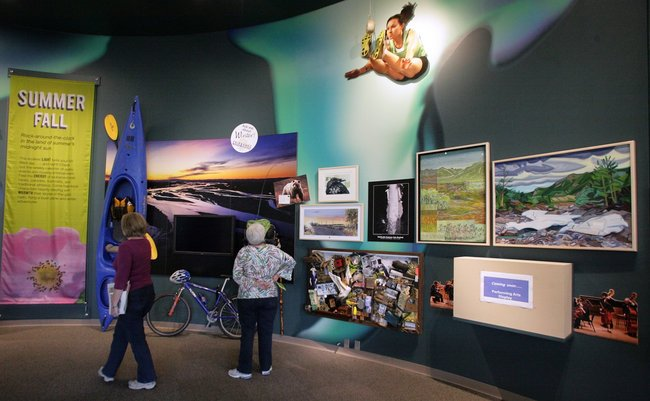 'Gateway' to the Interior: Morris Thompson Cultural and Visitors Center finishes exhibits