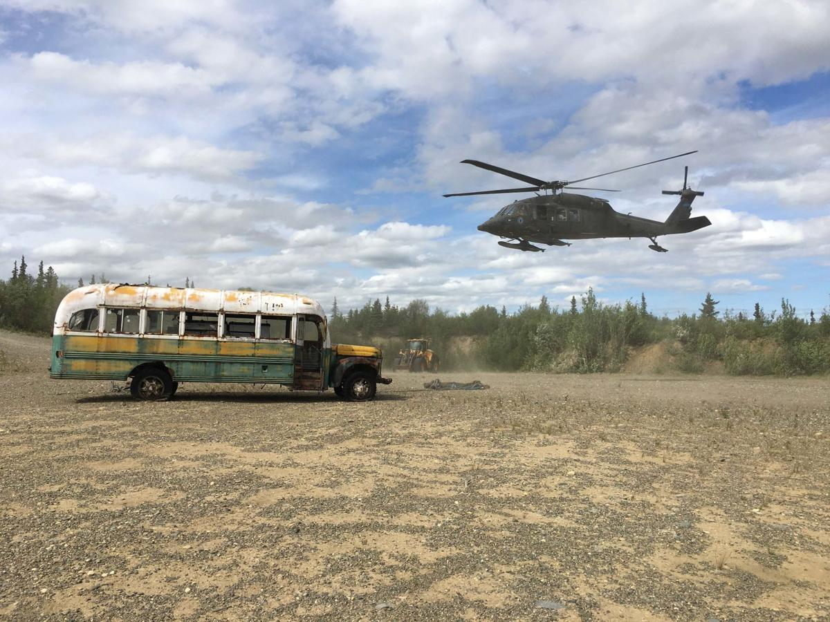 Stampede Trail bus
