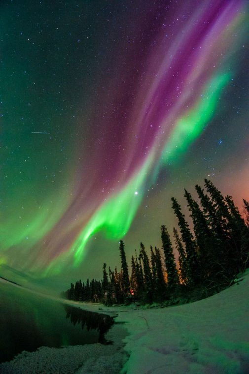 Facts About The Aurora Borealis Or Northern Lights In
