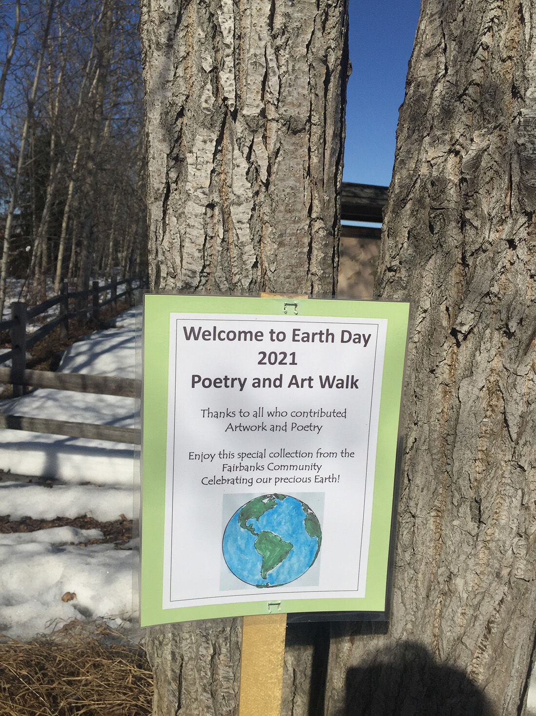 Earth Day Poetry and Art Walk at Creamer's Field