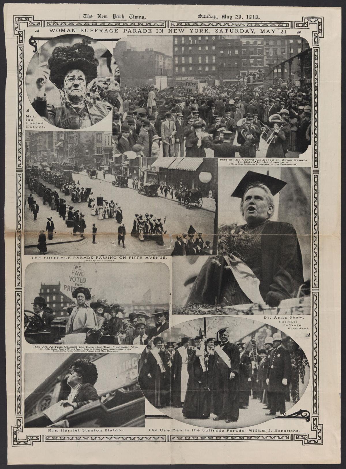Suffrage parade