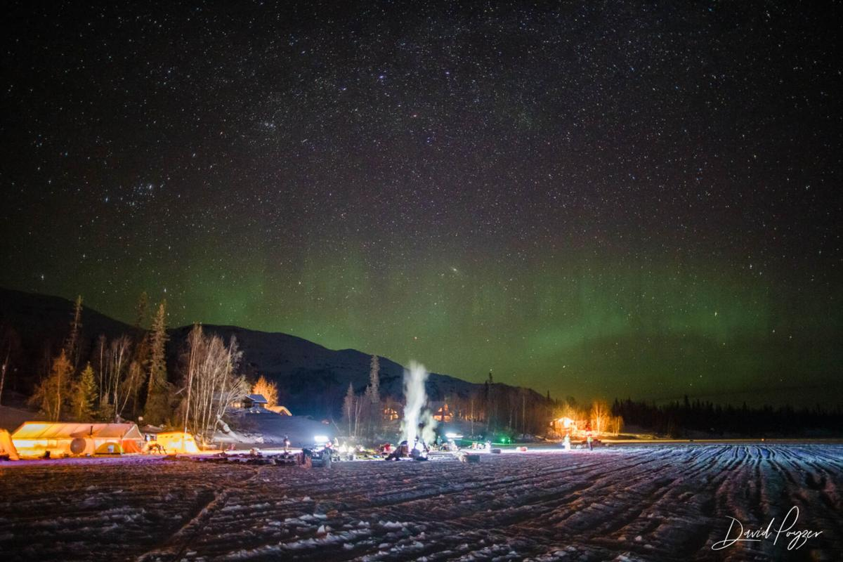 Northern Lights Over Finger Lake