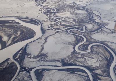 Middle Alaska is once again a part of the cryosphere