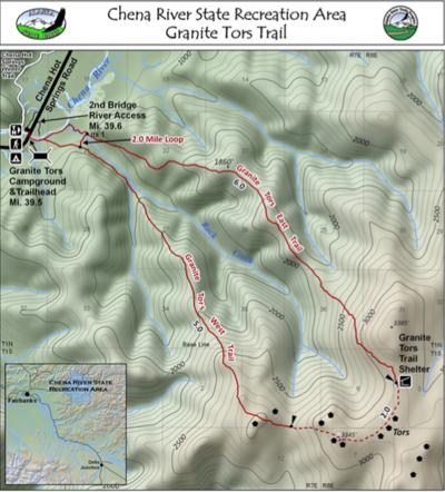 Tors map
