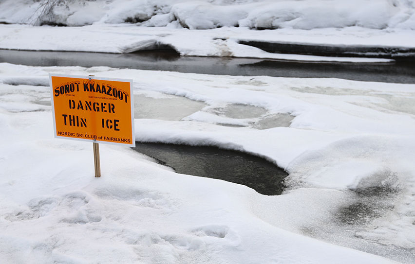 Thin ice on Sonot Kkaazoot