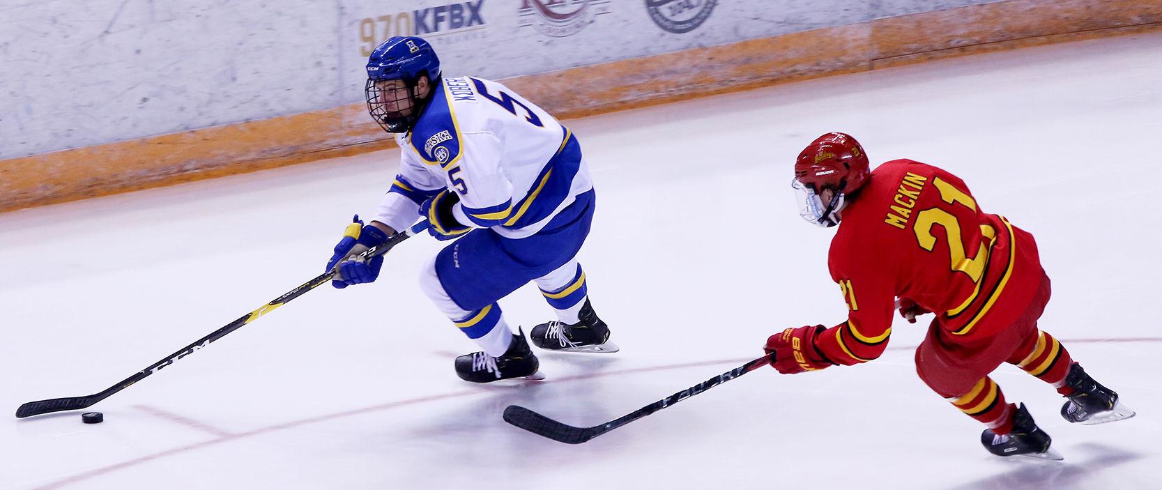 WCHA: Steven Jandric Lifts Nanooks Hockey Over Bulldogs In Overtime