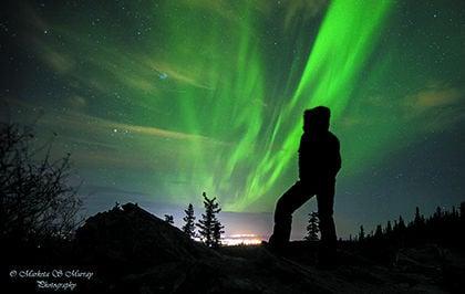 Aurora lights up september skies in interior alaska - Interior women s health fairbanks ak ...