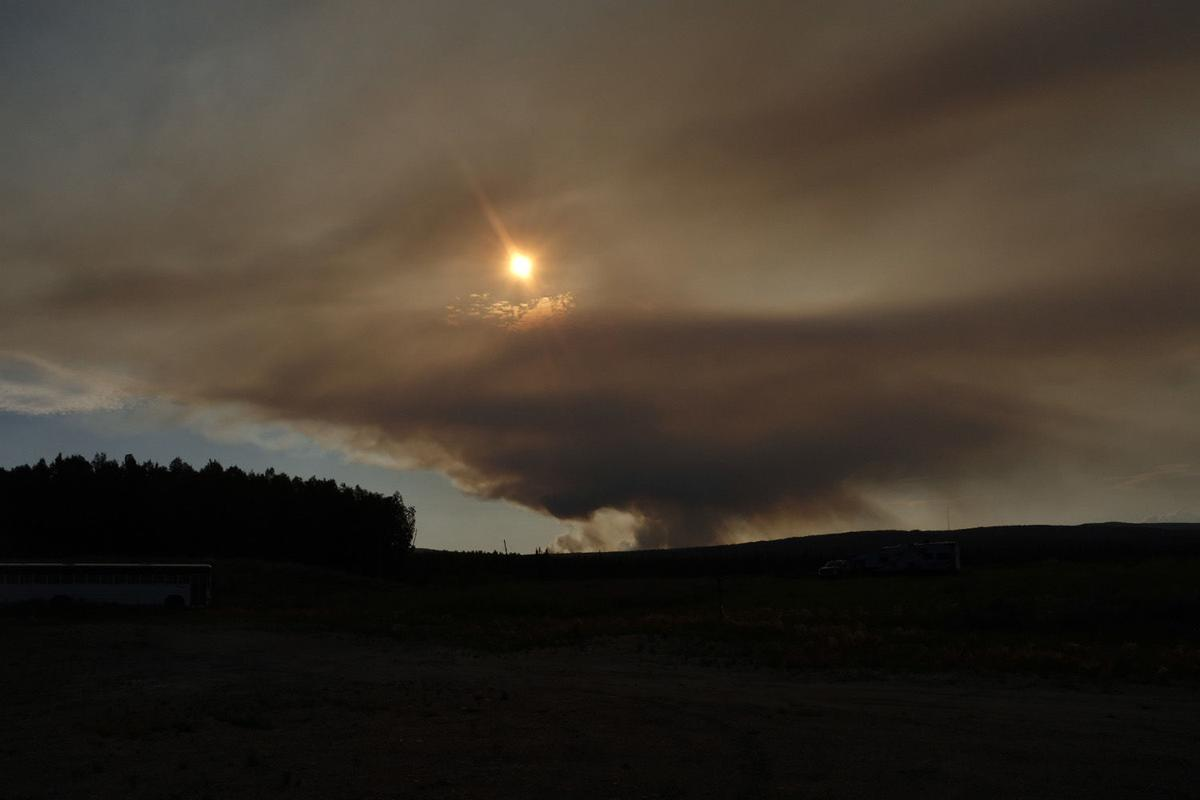 Shovel Creek Fire (Mason)