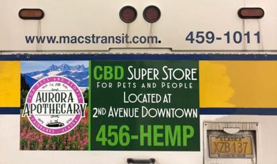 Cannabinoid ads pulled from buses