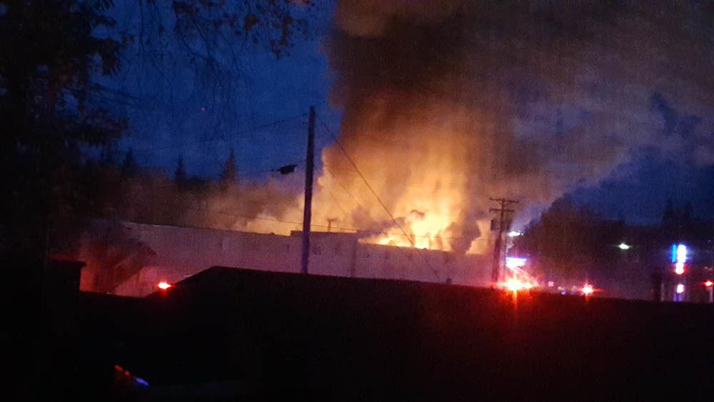 College Inn fire