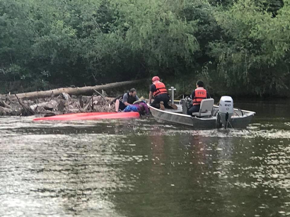 Chena River rescue