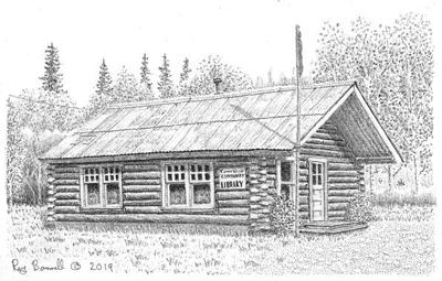 The Alaska Road Commission cabin