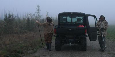 Purple Heart moose hunt