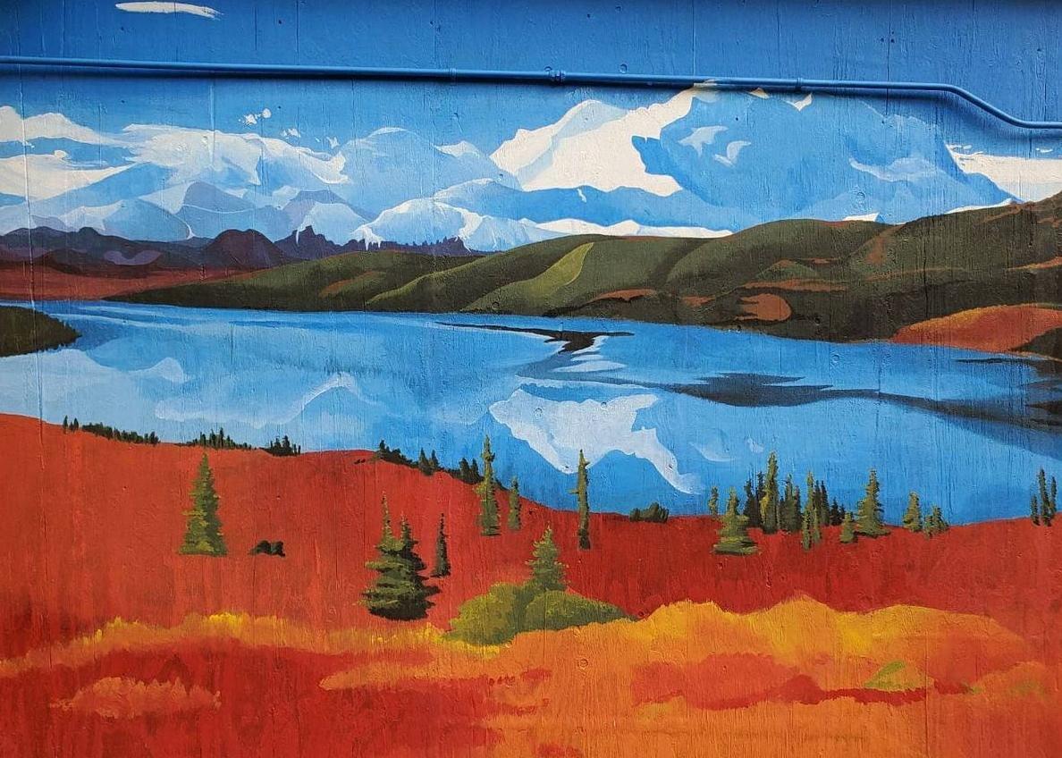 Denali mural