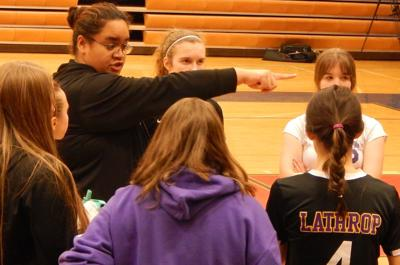 Lathrop volleyball