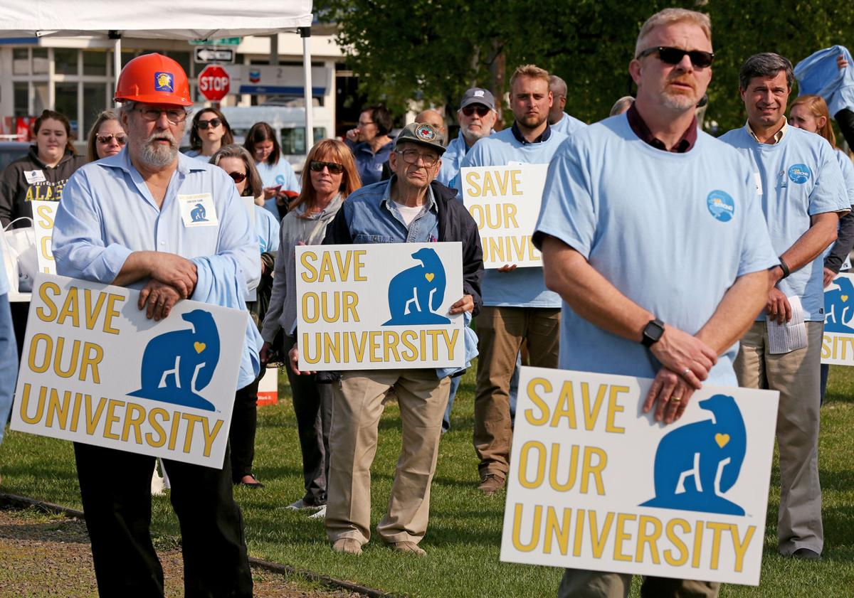 Save Our University Rally
