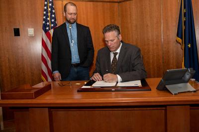 Dunleavy signs 'Schneider Loophole' bill