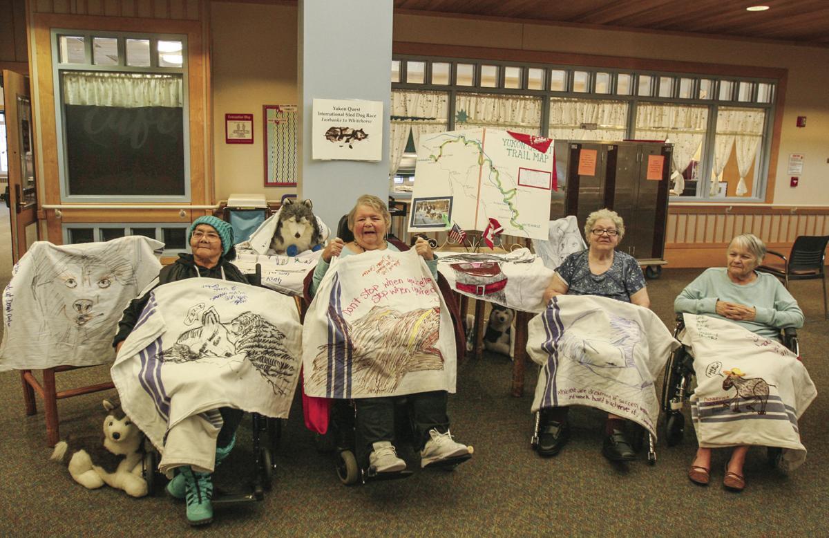 Yukon Quest blankets
