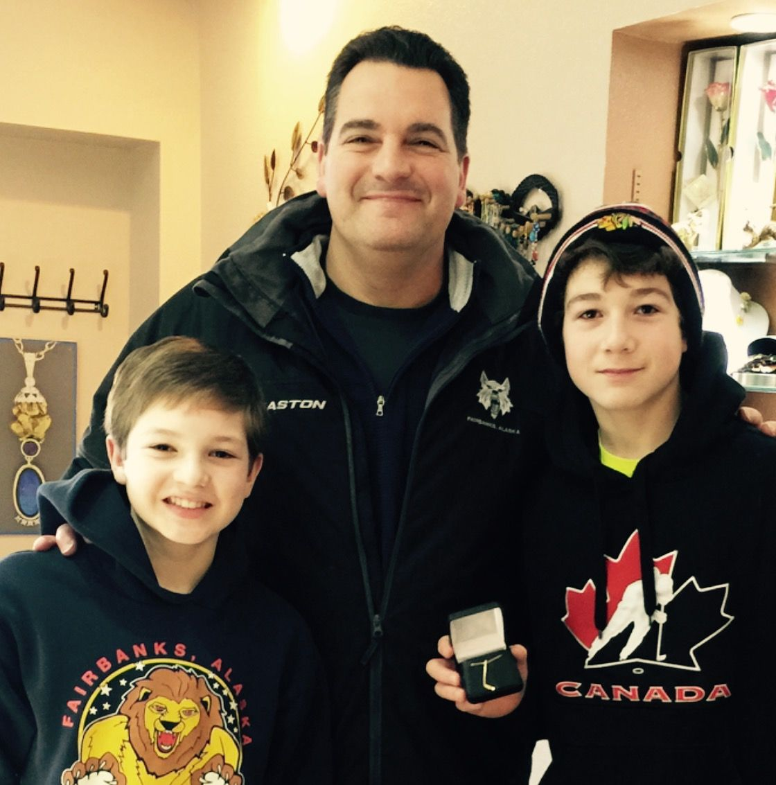 treasure hunt rink contest pay off for two families kris capps