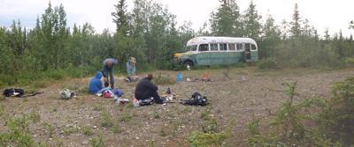 Stampede Trail 'magic bus'