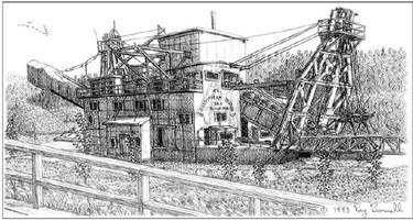Gold dredge No  8: A giant that saved Fairbanks