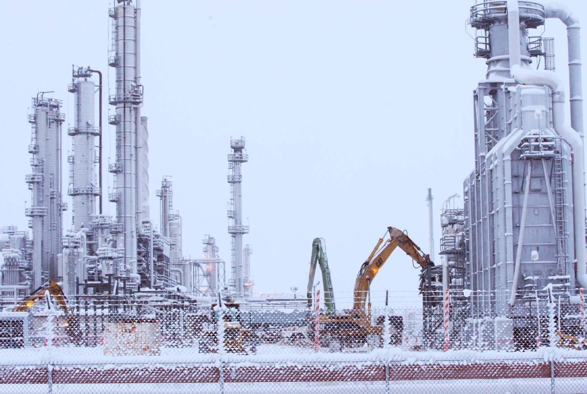 flint hills demolishing north pole refinery local news