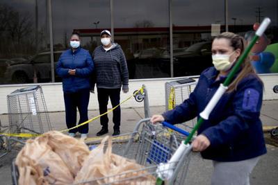 Face Masks, Flint, Michigan