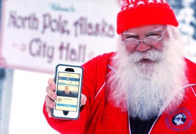 Santa Gets His Facebook Back