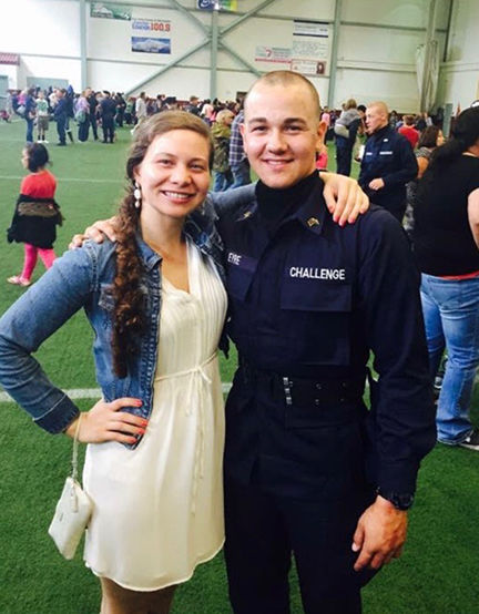 Cody Eyre and his sister, Samantha Eyre-Harrison