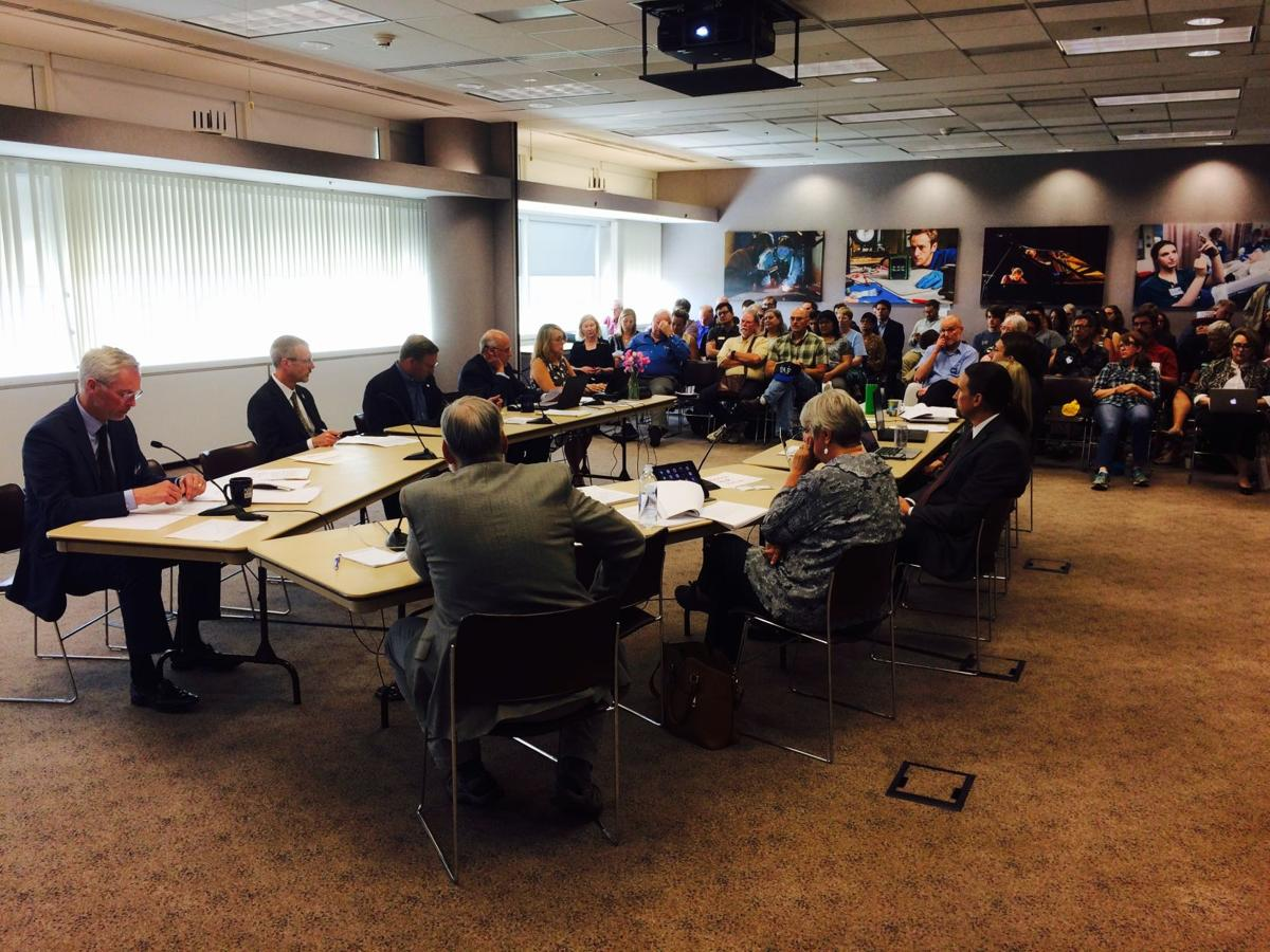 UA board of regents exigency meeting