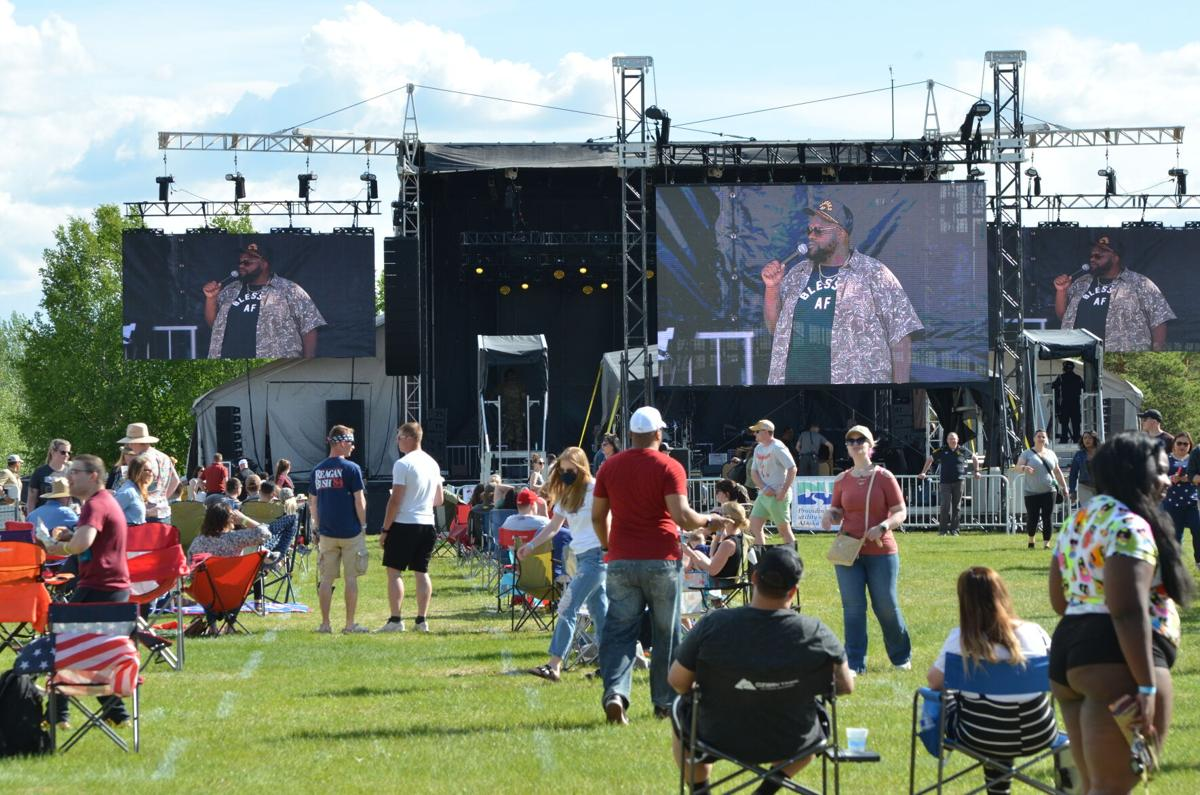 Fort Wainwright hosts first summer concert in two years