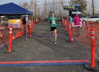 Curtis Henry wins the HooDoo Half-Marathon