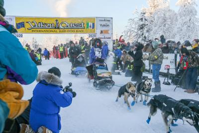 Yukon Quest 2020 start