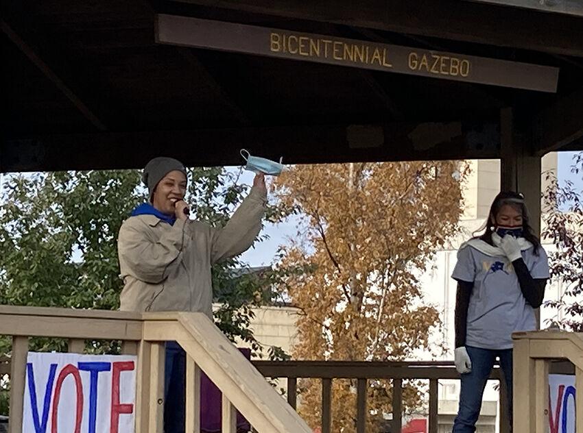 Voter rally